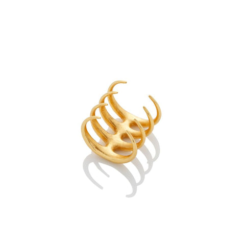 Quad Quill Ring - AMANDA PEARL - elegantly edgy accessories