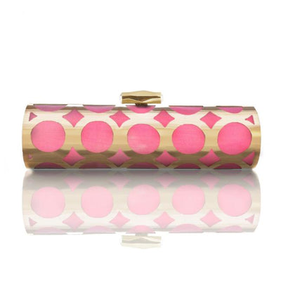 Cala: Hand Painted Alessia Clutch