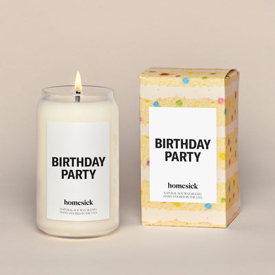 Homesick Candle: Birthday Party