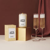 Homesick Candle: Let's Toast
