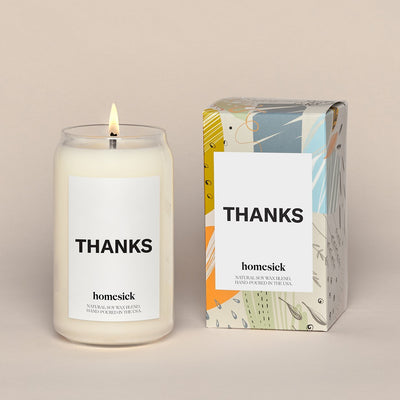 Homesick Candle: THANKS