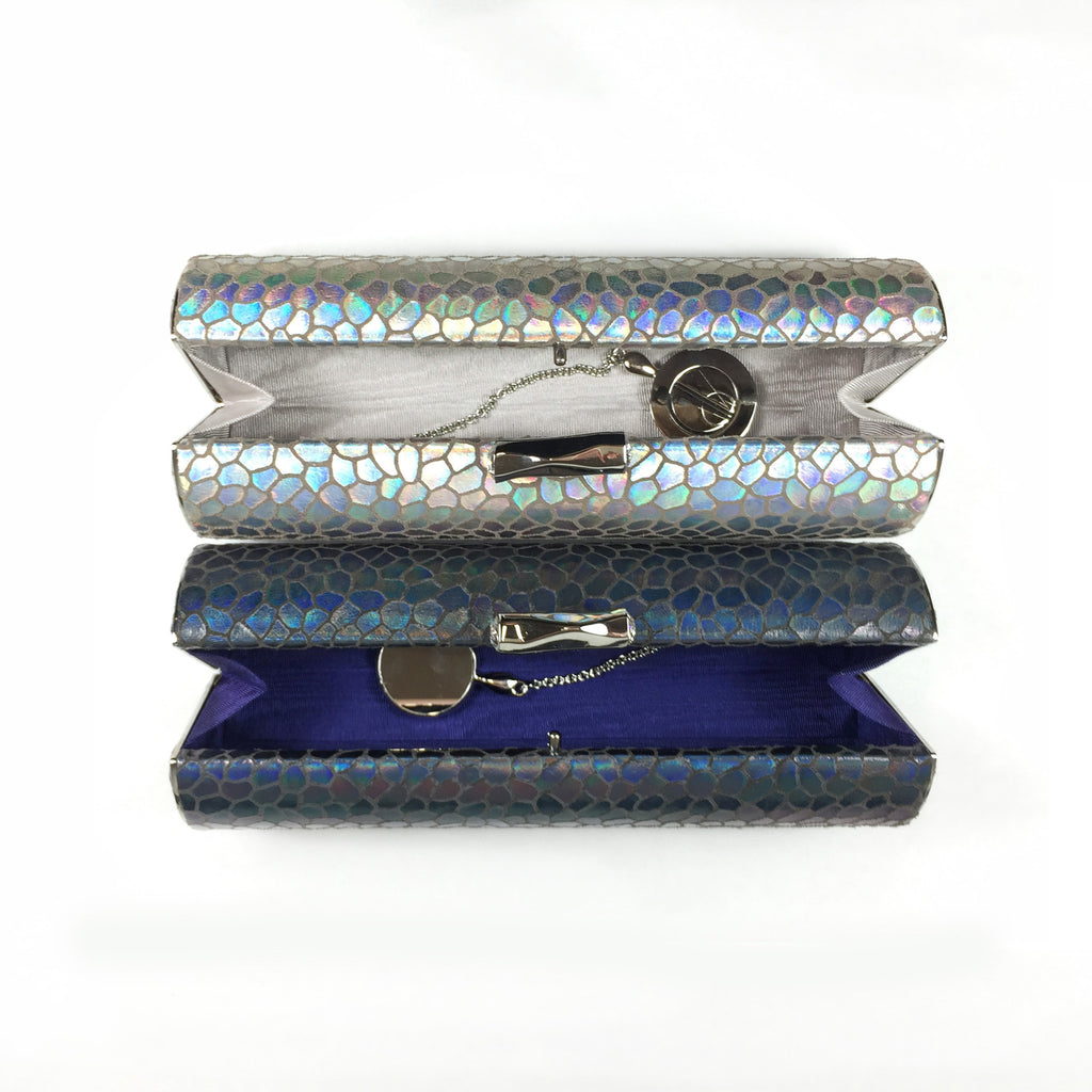 Lir: Holographic Scales - AMANDA PEARL - elegantly edgy accessories