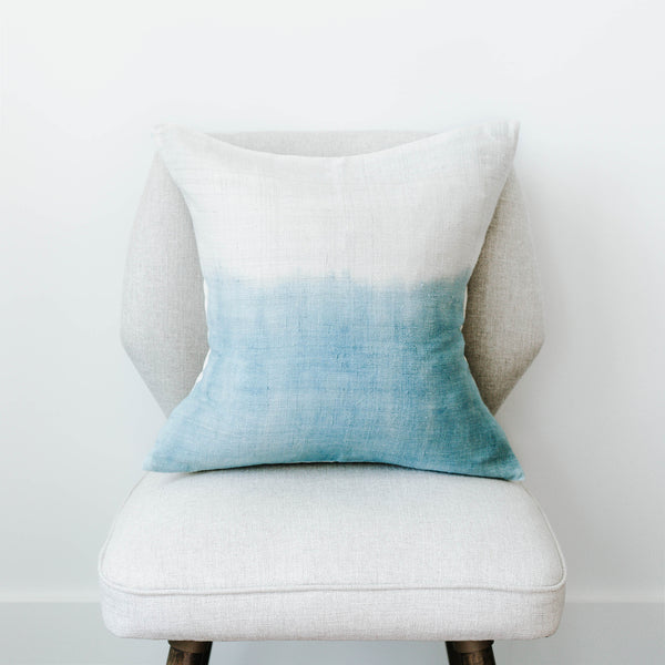 SHIBORI SILK CUSHION COVER - AMANDA PEARL
