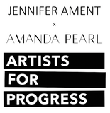 JA x AP / Artists For Progress Pouch - AMANDA PEARL