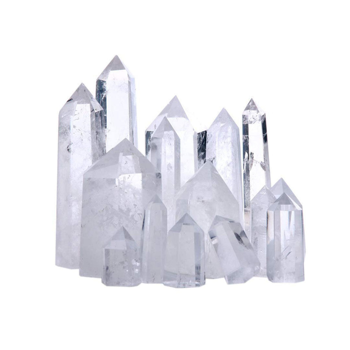 Clear Quartz Crystal Towers - AMANDA PEARL