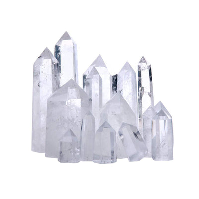Clear Quartz Crystal Tower