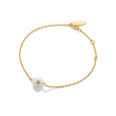 SAMPLE SALE - Pearl Chain Bracelet