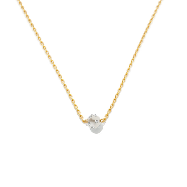 SAMPLE SALE - Spiked Pearl Chain Necklace - AMANDA PEARL