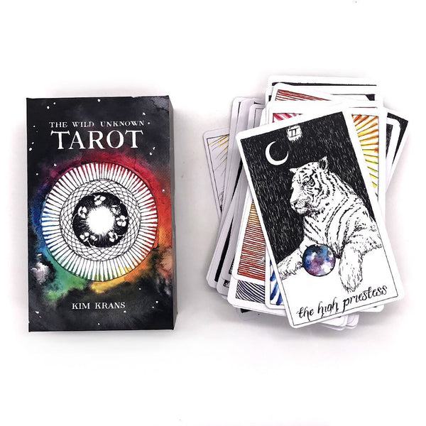 The Wild Unknown Tarot Deck and Guide - AMANDA PEARL