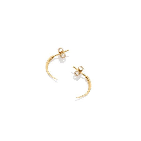 Quill Thorn Earrings - Gold - AMANDA PEARL