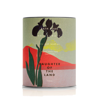 DAUGHTER OF THE LAND Iris + Rosehips Bath Soak