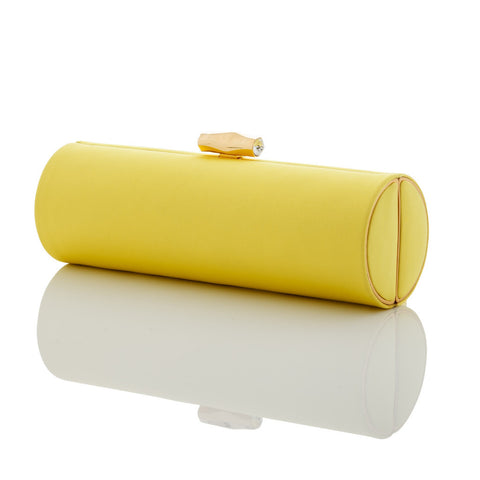 Brooke: Canary Duchess Roll Clutch - AMANDA PEARL