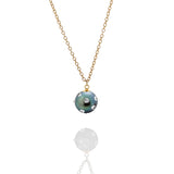 SAMPLE SALE - Spiked Tahitian Pearl Pendant Necklace - AMANDA PEARL