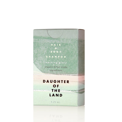 DAUGHTER OF THE LAND Morning Glory Shampoo Bar