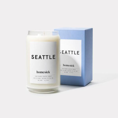 Homesick Candle: Seattle - AMANDA PEARL