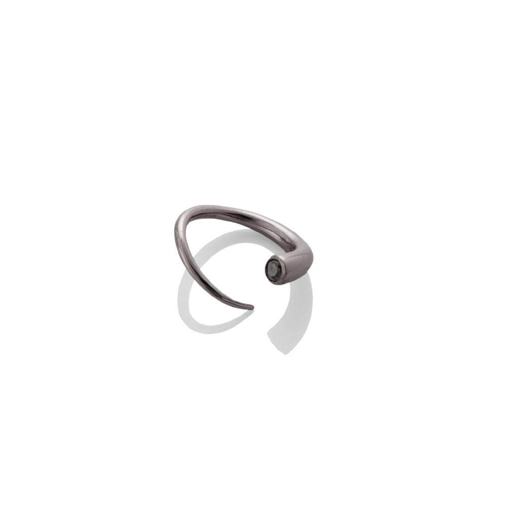 Quill Bypass Ring - AMANDA PEARL - elegantly edgy accessories