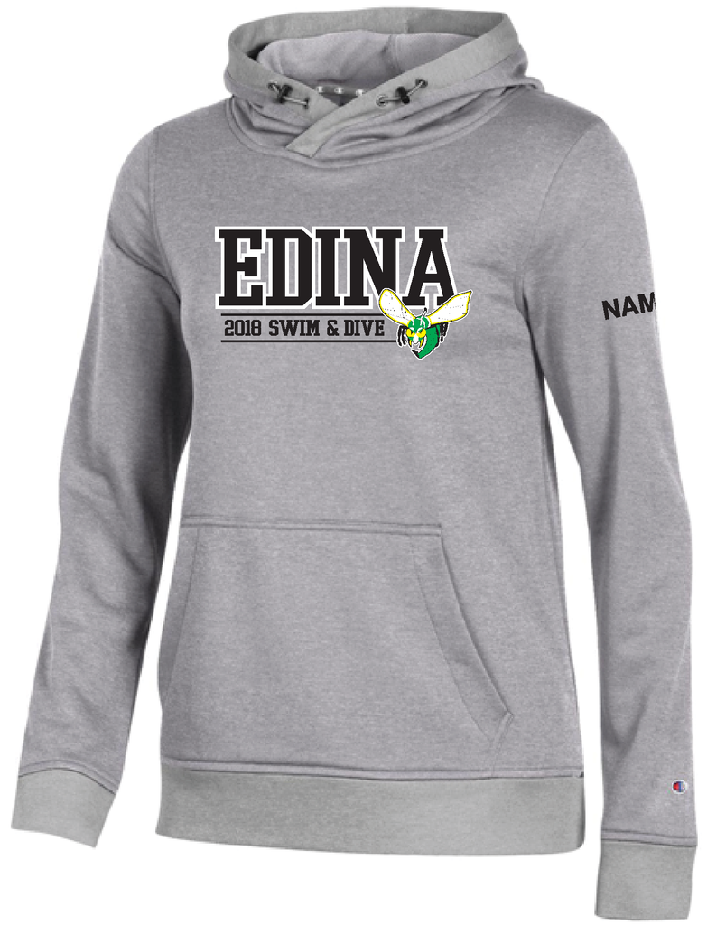 Edina Swim & Dive Hood Women's hood with name