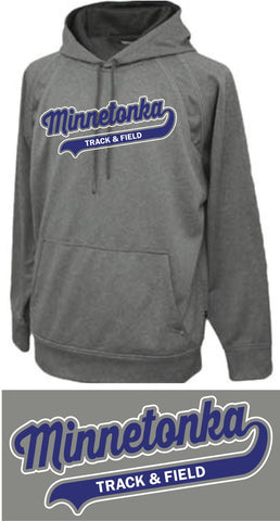 Minnetonka Track & Field Hooded Sweatshirt - NO NAME