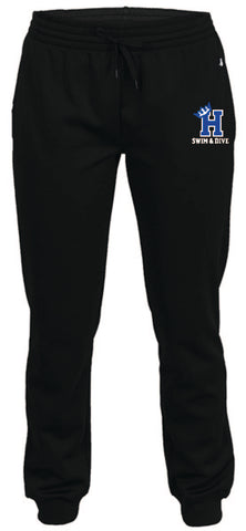 Hopkins Swim & Dive WOMEN'S Dri fit joggers