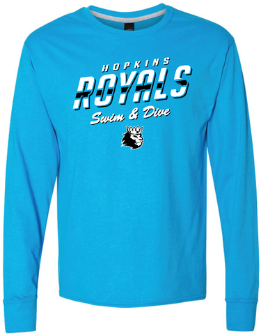 Hopkins Swim & Dive long sleeve T-shirt