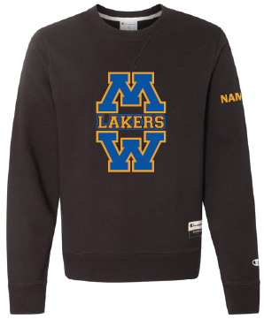 Lakers Crew neck sweatshirt with name