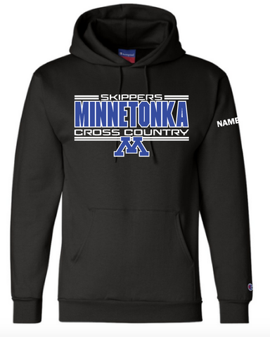 Minnetonka West Cross country Printed hood with name