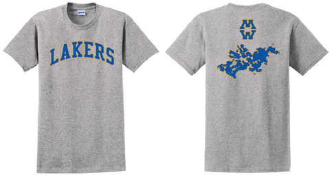Lakers short sleeve T-shirt