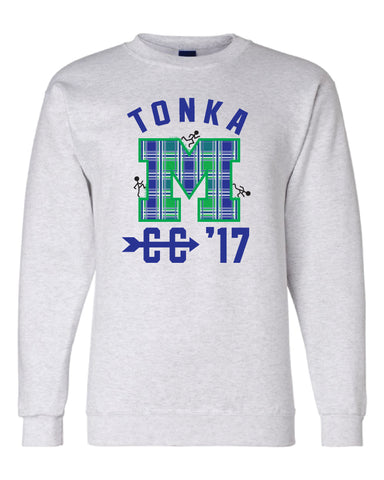Minnetonka Middle School West Cross Country Crew Sweatshirt