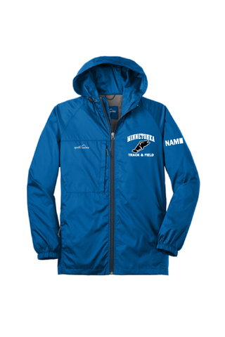 Minnetonka Track & Field Windbreaker With name