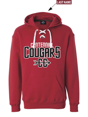 Centennial Cross Country Hoodie - With Name