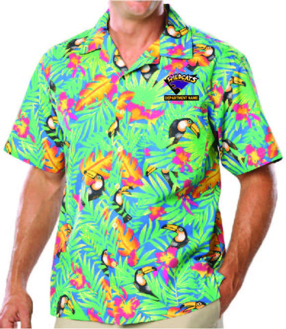 Toucan Print Hawaiian Shirt