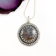 Load image into Gallery viewer, Mandana Studios sterling silver ARIES GODDESS PIETERSITE PENDANT