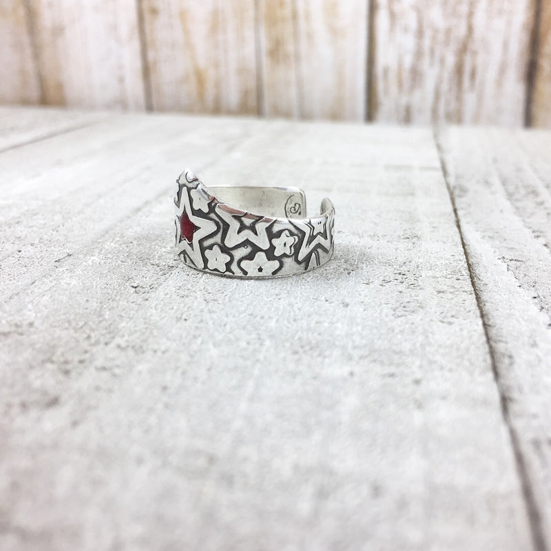 Mandana Studios sterling silver WONDER WOMAN INSPIRED RING