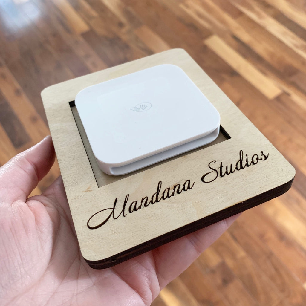 Custom Square Reader Docking Station