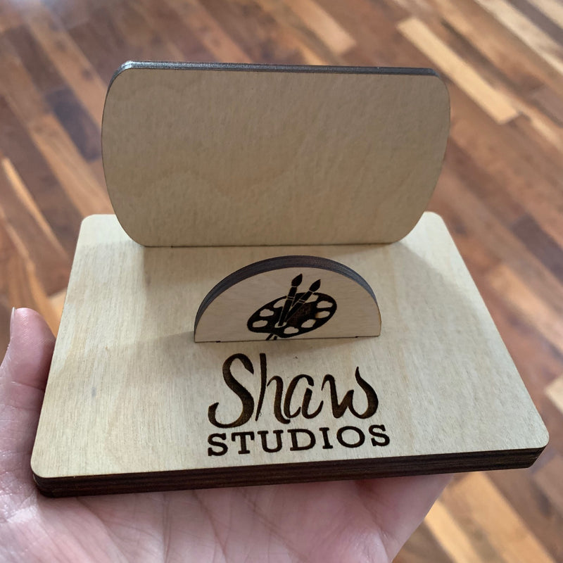 Customized Business Card Stand