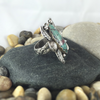 Mandana Studios sterling silver NATURAL CHRYSOCOLLA GEMSTONE RING