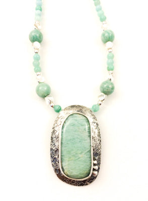 Mandana Studios AMAZONITE NECKLACE