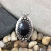 Mandana Studios FACETED BLACK ONYX PENDANT