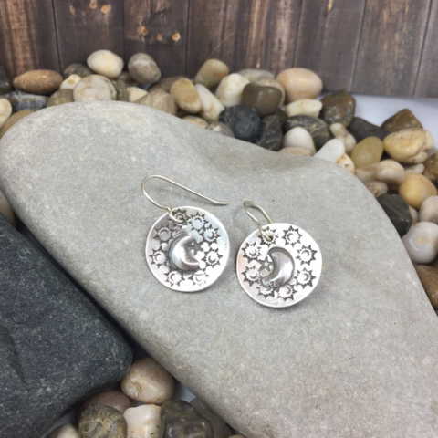 APHRODITE MOONSTONE EARRINGS