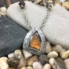 GOLDEN BROWN LABRADORITE PENDANT