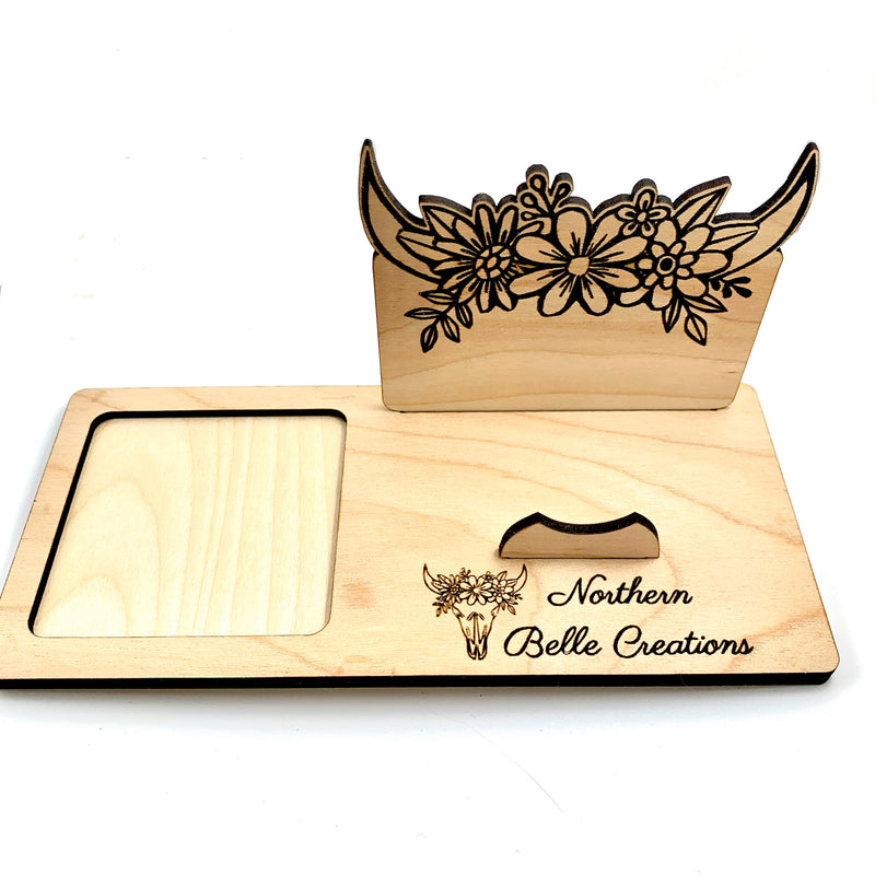 Custom Square Reader Docking Station & Business Card Holder