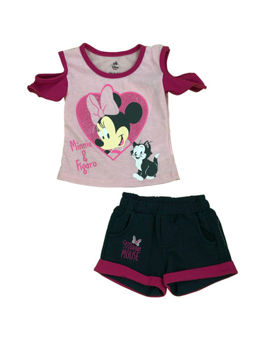 CONJUNTO SHORT MINNIE & FIGARO