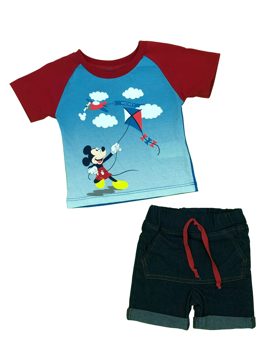 CONJUNTO SHORT MICKEY PAPALOTE