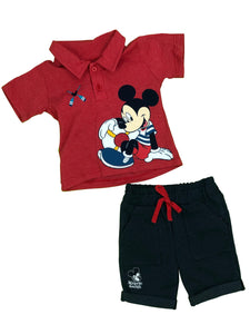 CONJUNTO SHORT MICKEY MARINERO