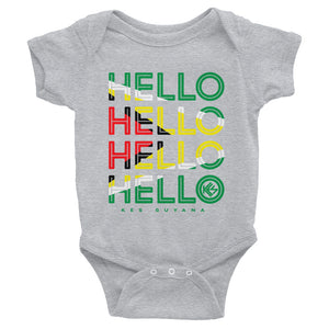 Hello Guyana Baby Onesie - Kes Official Online Store