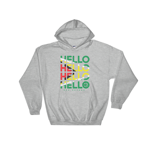 Hello Guyana Unisex Pullover Hoodie - Kes Official Online Store