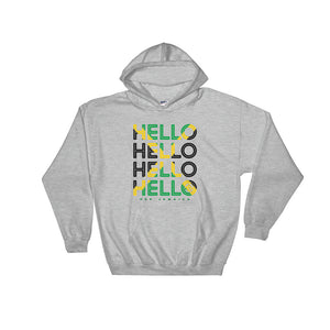 Hello Jamaica Unisex Pullover Hoodie - Kes Official Online Store