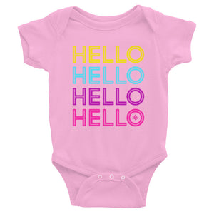 Hello Neon Baby Onesie - Kes Official Online Store