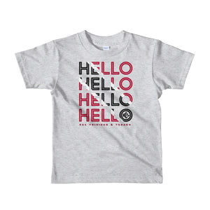 Hello Trinidad & Tobago Kids T-Shirt - Kes Official Online Store