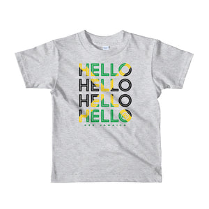 Hello Jamaica Kids T-Shirt - Kes Official Online Store